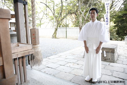 石切劔箭神社(石切さん) / 拝礼の作法